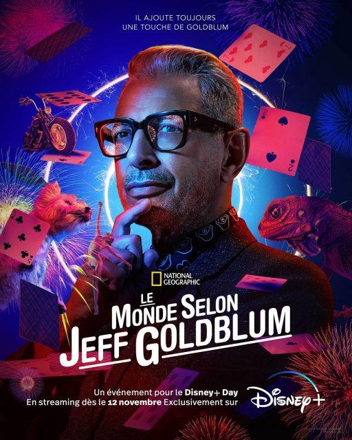 Affiche Poster monde world according jeff goldblum disney