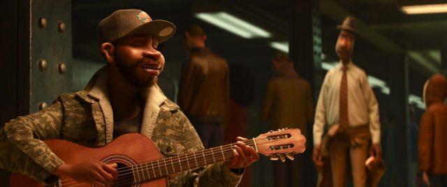 chanteur singer personnage character soul disney pixar