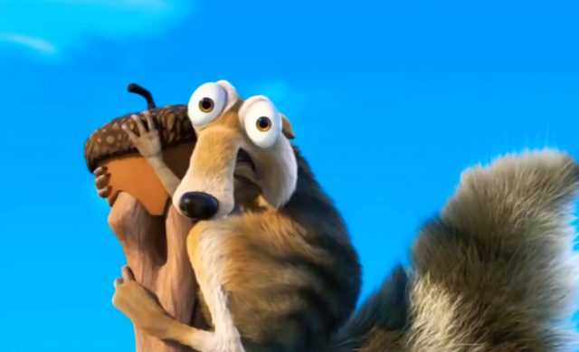 image age glace grande chasse oeufs ice age great egg scapade disney blue sky