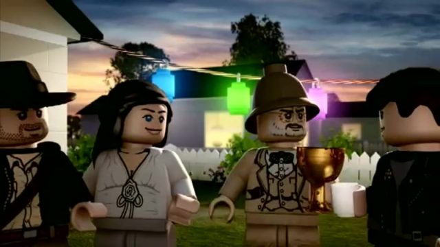 image lego indiana jones raiders lost brick disney lucasfilm