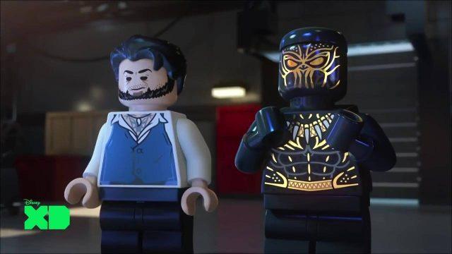 image lego marvel super heros black panther danger trouble wakanda disney