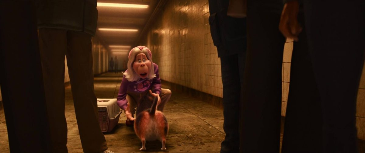 thérapeute therapy cat lady personnage character soul disney pixar