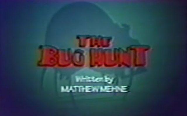 affiche poster bug hunt disney