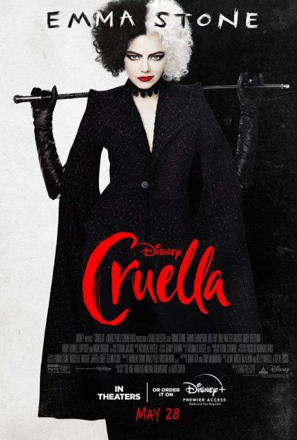 affiche poster cruella film disney