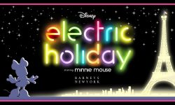 affiche poster electric holiday minnie disney