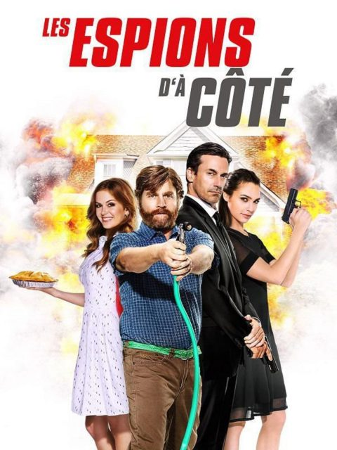 affiche poster espions cote Keeping Joneses disney fox