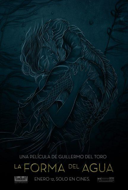 affiche poster forme eau shape water disney fox