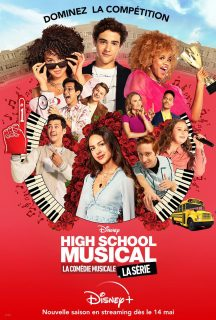 affiche poster high school musical serie disney