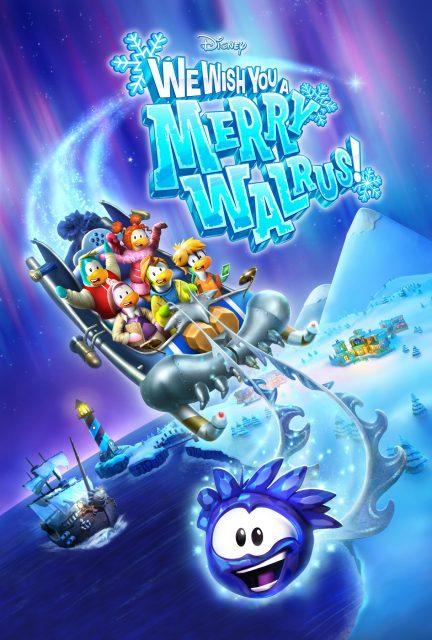 affiche poster joyeux morse tous wish merry Walrus disney