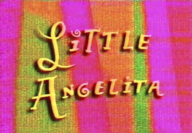 affiche poster little angelita disney