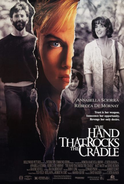 affiche poster main berceau hand rocks cradle disney