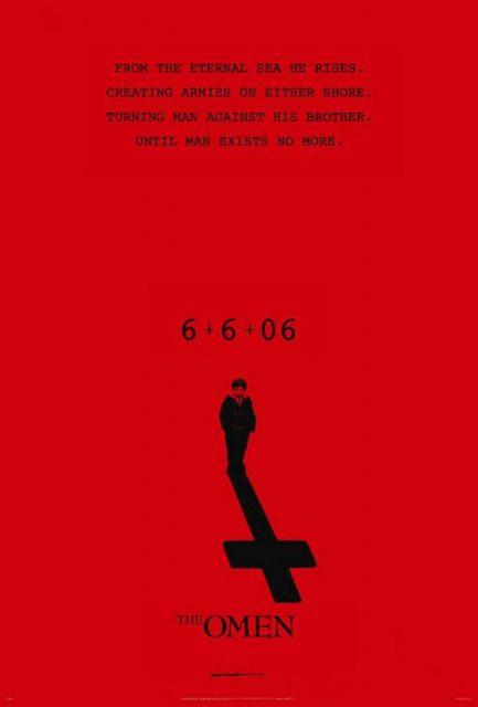 affiche poster malédiction omen 666 disney fox