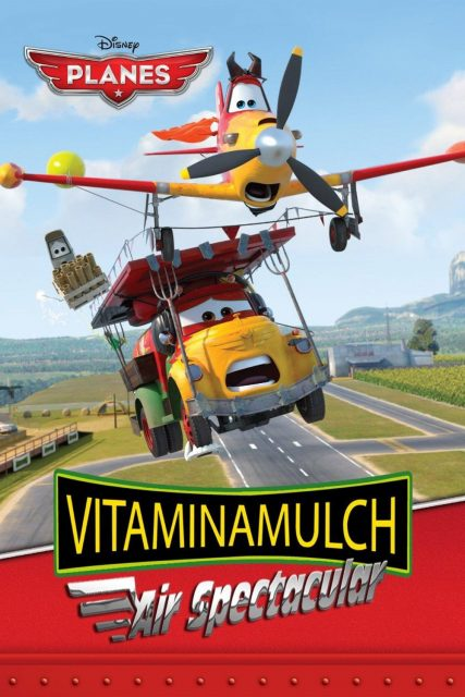 affiche poster meeting aaerien vitaminamax Vitaminamulch : Air Spectacular disney