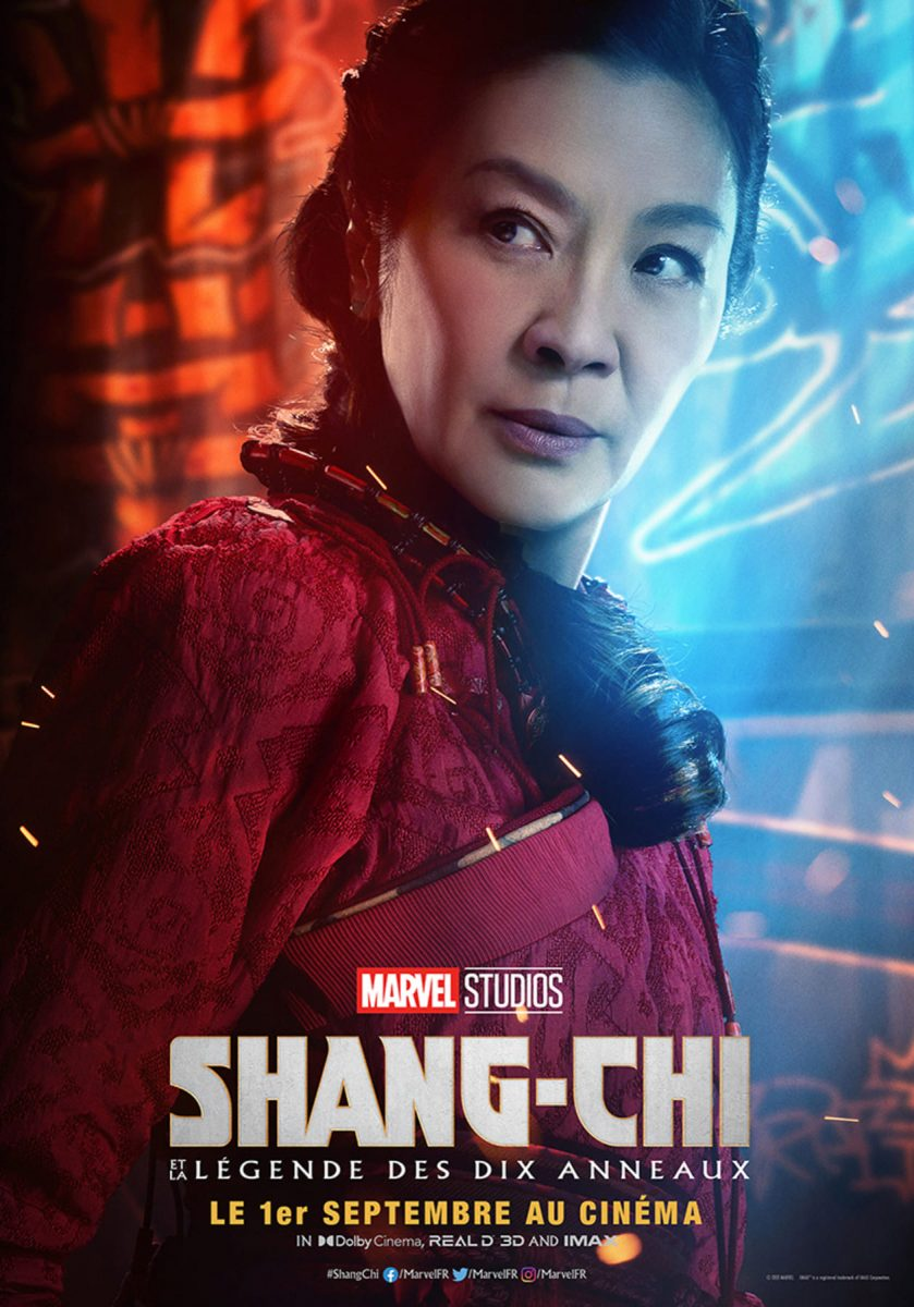 affiche poster shang shi légende dix anneaux ten rings disney marvel