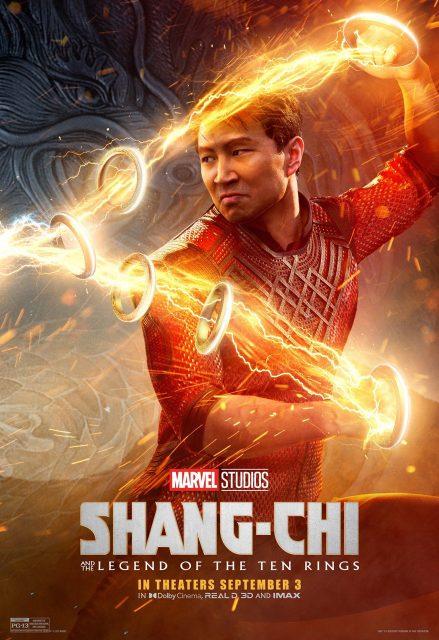affiche poster shang chi légende dix anneaux ten rings disney marvel