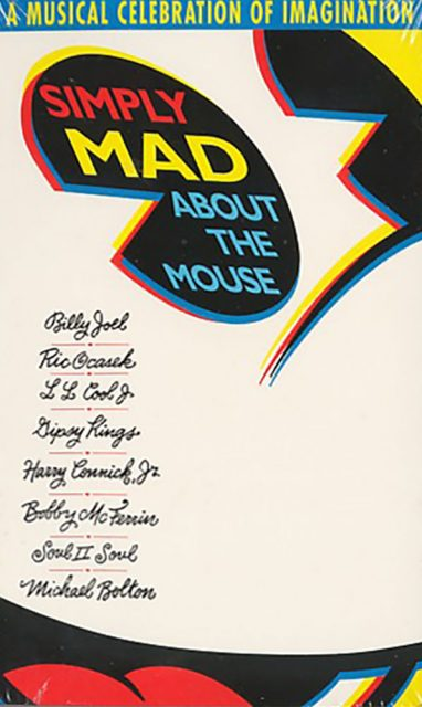 affiche poster simply mad about mouse disney