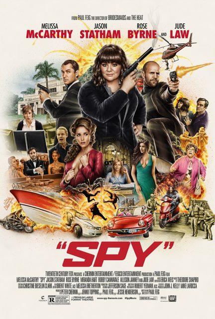 affiche poster spy disney fox