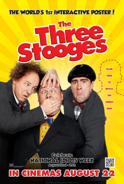 affiche poster trois corniauds three stooges disney fox