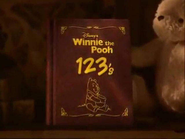 affiche poster winnie ourson pooh 123 disney