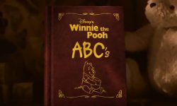 affiche poster winnie pooh abc discovering letters words disney
