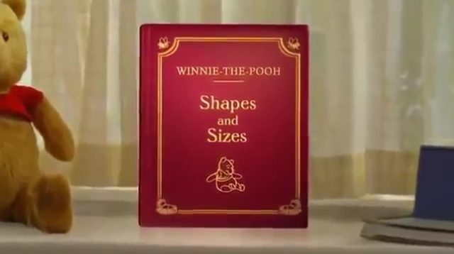 affiche poster winnie pooh shapes sizes disney