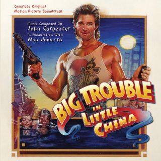 bande originale soundtrack ost score aventures jack burton griffe mandarin Big Trouble Little China disney fox