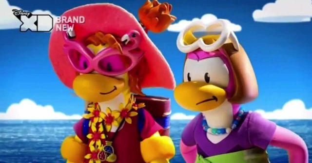 image fete monstre plage club penguin monster beach party disney