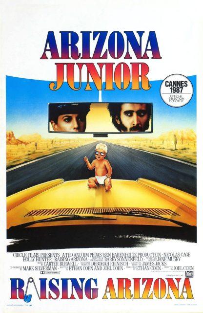 affiche poster raising arizona junior disney fox