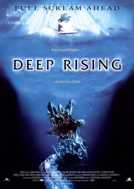 affiche poster cri ocean deep rising disney