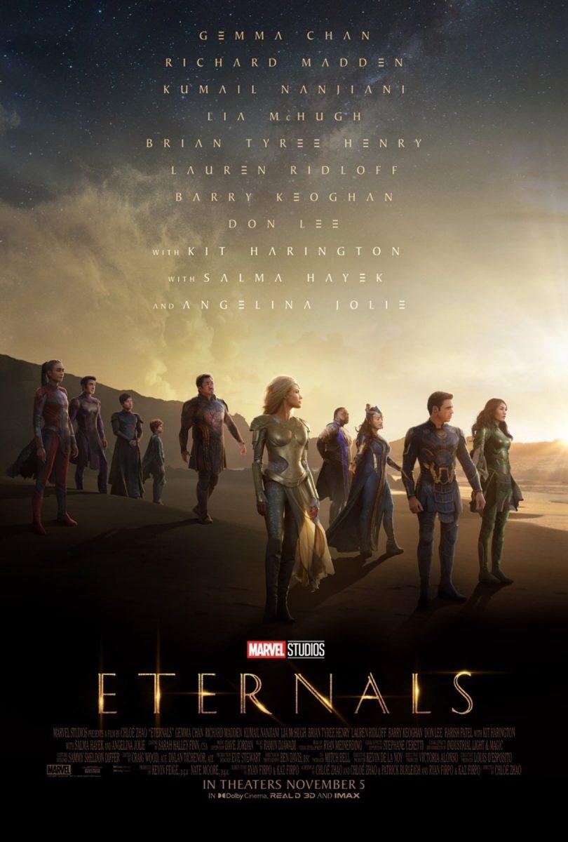 affiche poster eternels eternals disney marvel