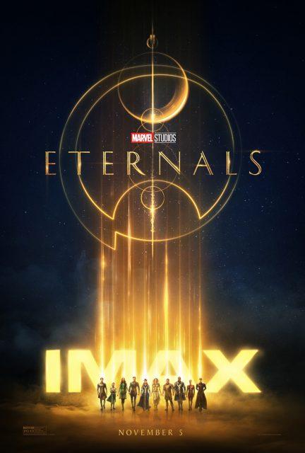 affiche poster eternels eternals marvel