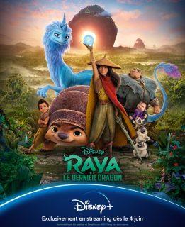 affiche poster raya dernier last dragon disney