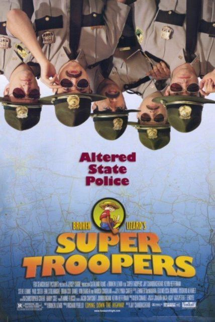 affiche poster super troopers disney fox