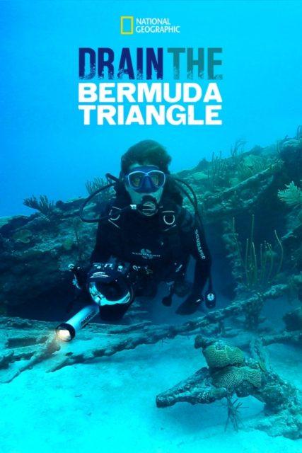 affiche poster triangle bermudes mythe realite drain disney nat geo