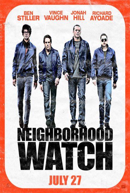 affiche poster voisins troisième the watch  neighborhood disney fox