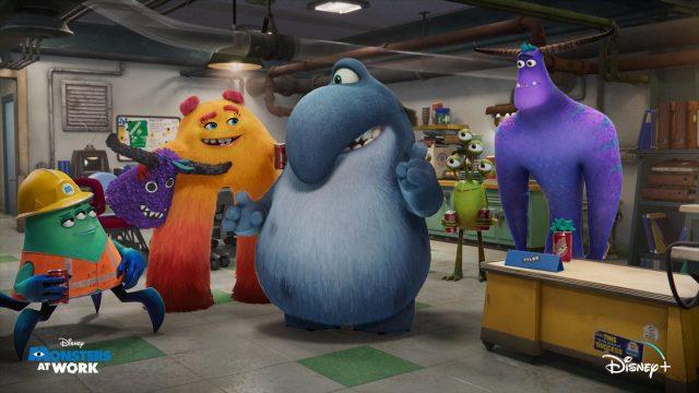 image monstres cie travail monsters inc work disney pixar