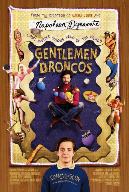 affiche poster gentlemen broncos disney fox