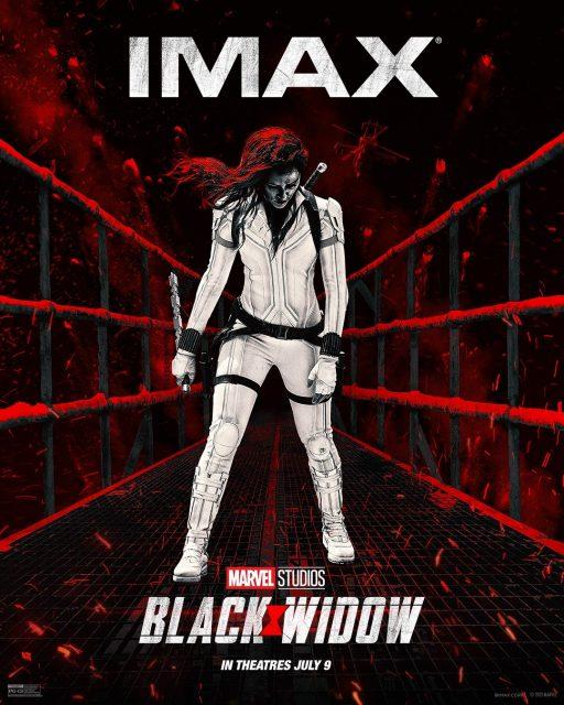 affiche poster black widow disney marvel