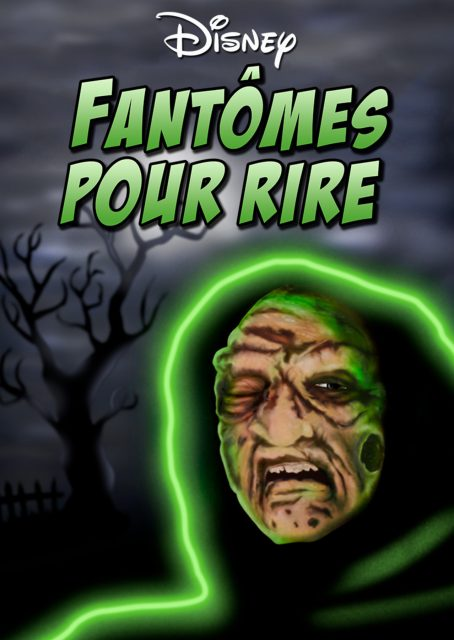 affiche poster fantome rire boogedy disney