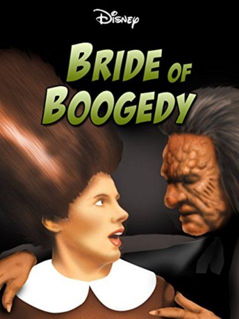 affiche poster fiancée bride boogedy disney