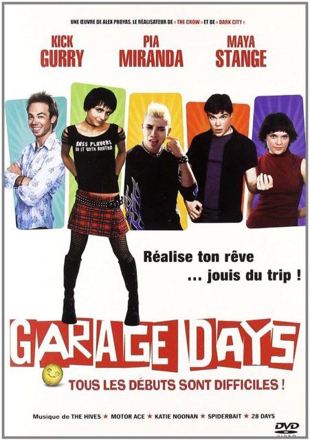 affiche poster garage days disney fox
