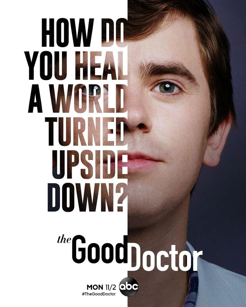 affiche poster good doctor saison 4 disney abc