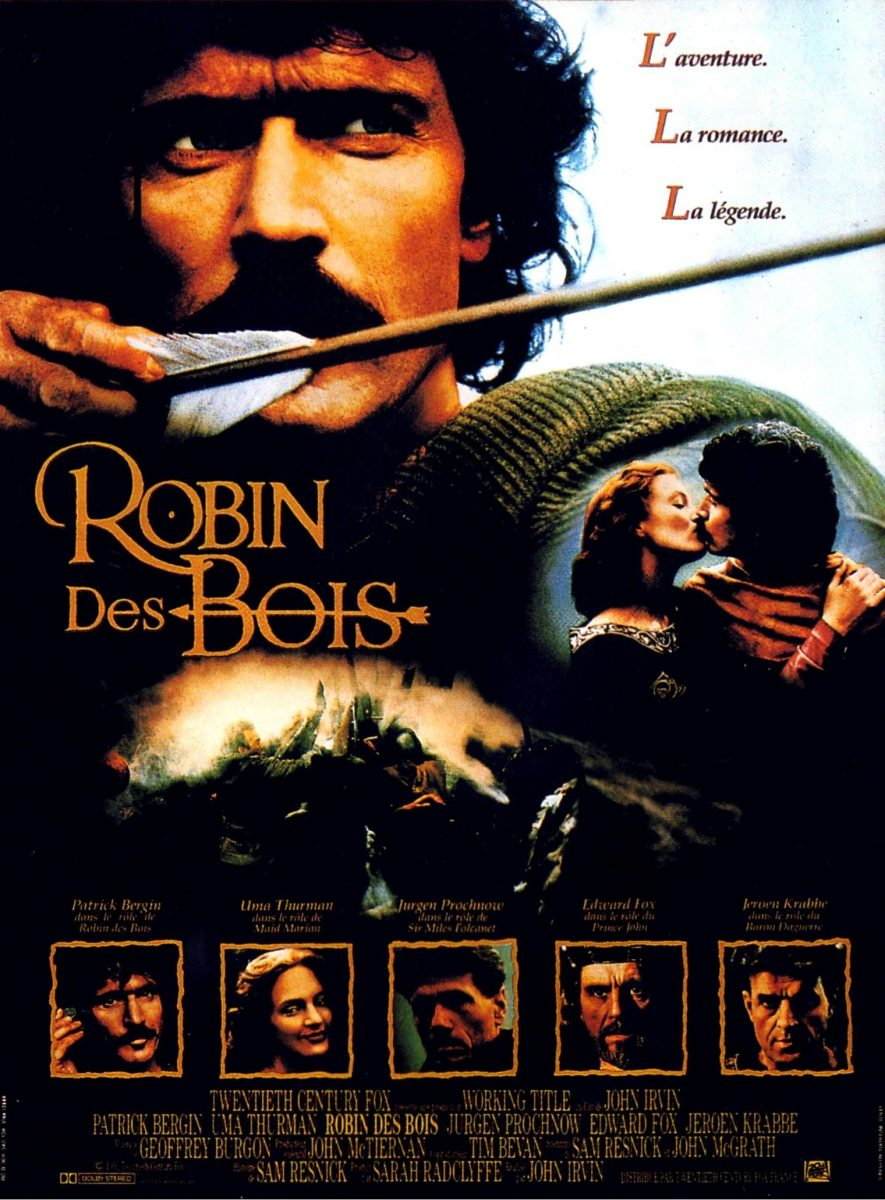 affiche poster robin bois hood 1991 disney fox