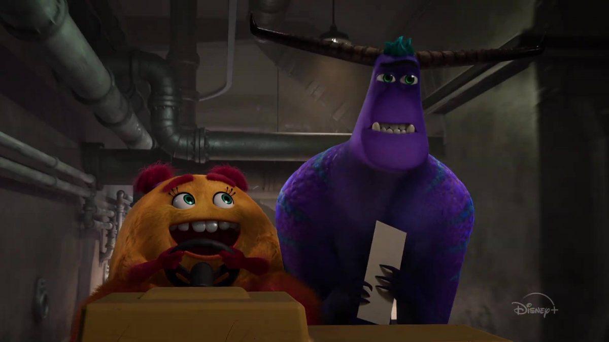 image monstres cie inc travail work disney pixar