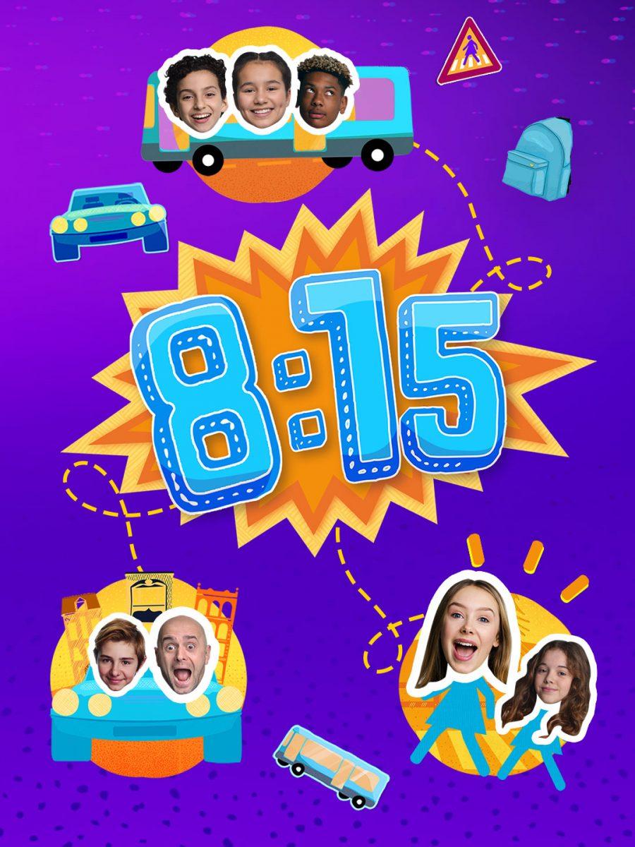 affiche poster 8h15 disney