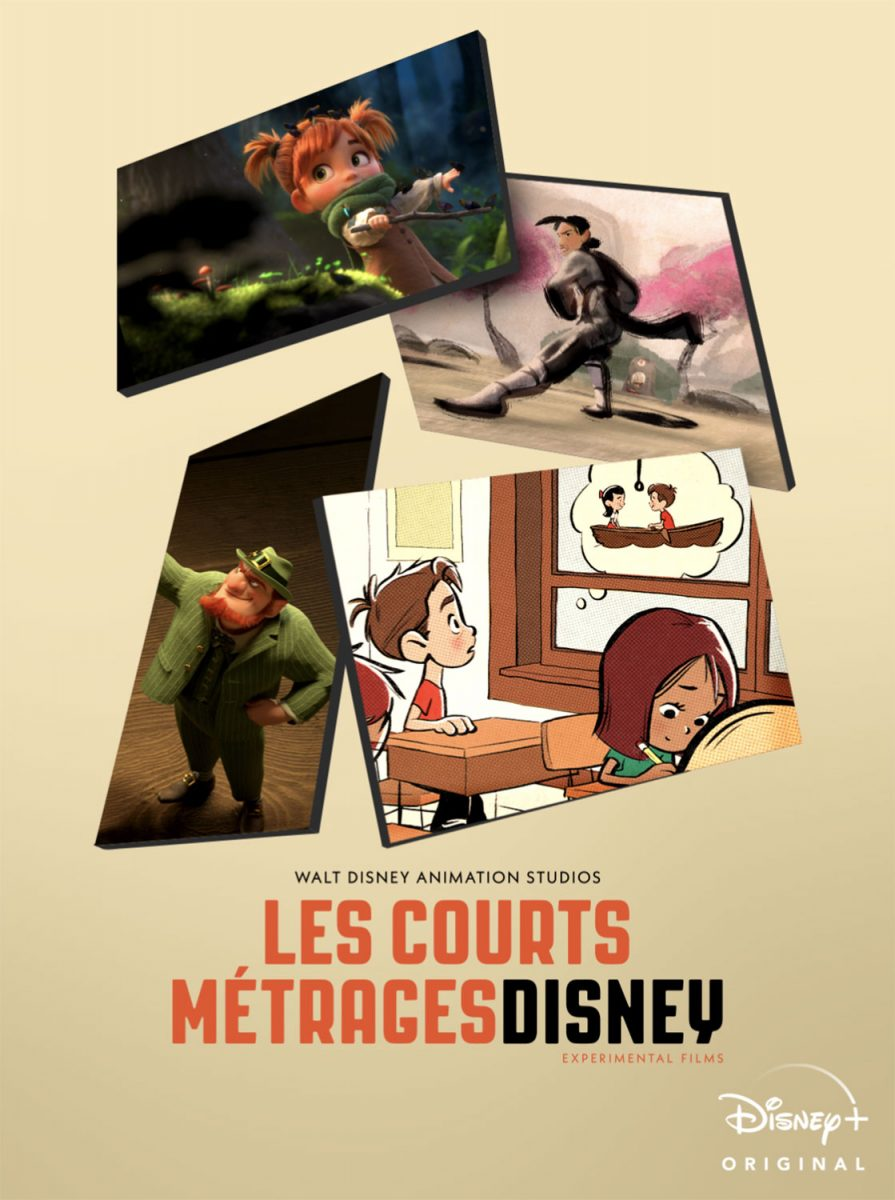 affiche poster court metrage short disney