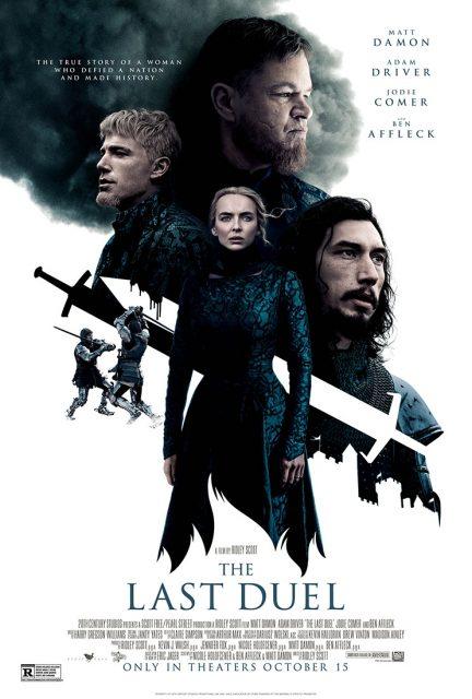 affiche poster dernier last duel