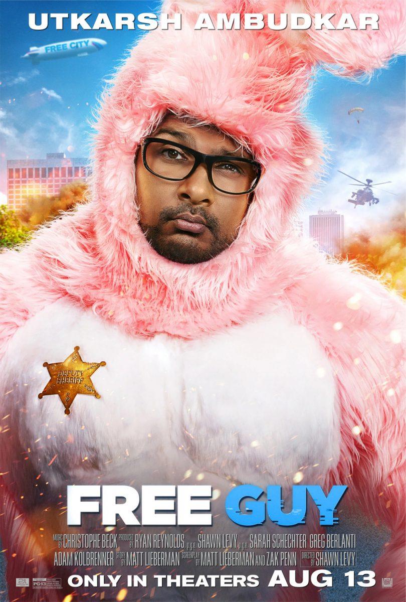 affiche poster free guy disney