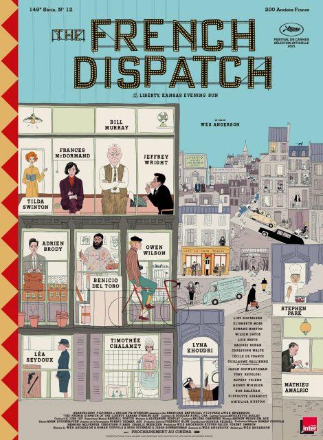 affiche poster french dispatch disney fox