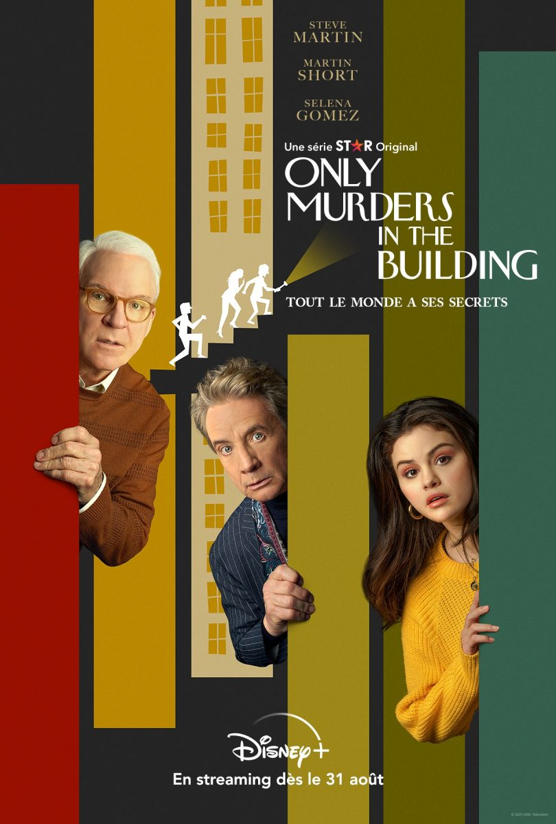 affiche poster only murders building disney
